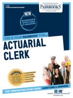 Actuarial Clerk: Passbooks Study Guide