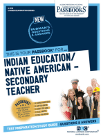Indian Education – Secondary Teacher