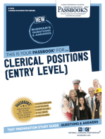 Clerical Positions (Entry Level)