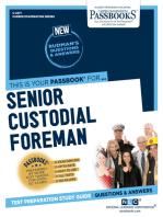 Senior Custodial Foreman