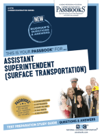 Assistant Superintendent (Surface Transportation)