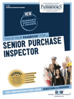 Senior Purchase Inspector