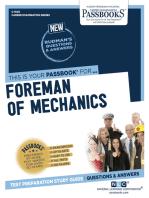 Foreman of Mechanics
