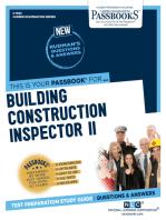 Building Construction Inspector II
