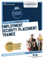 Employment Security Placement Trainee