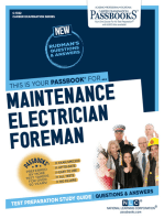 Maintenance Electrician Foreman