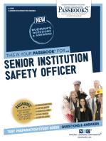 Senior Institution Safety Officer