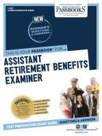 Assistant Retirement Benefits Examiner