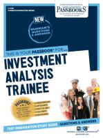 Investment Analysis Trainee: Passbooks Study Guide