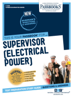 Supervisor (Electrical Power)