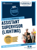 Assistant Supervisor (Lighting)