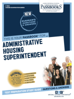Administrative Housing Superintendent