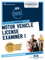 Motor Vehicle License Examiner I