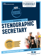 Stenographic Secretary