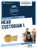 Head Custodian I