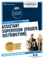 Assistant Supervisor (Power Distribution)