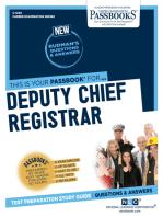 Deputy Chief Registrar