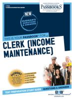 Clerk (Income Maintenance)