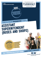 Assistant Superintendent (Buses and Shops)