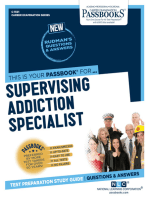 Supervising Addiction Specialist
