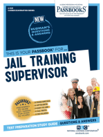 Jail Training Supervisor