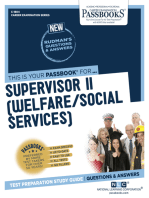 Supervisor II (Welfare/Social Services)