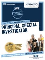 Principal Special Investigator