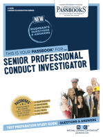Senior Professional Conduct Investigator
