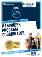 Manpower Program Coordinator