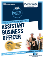 Assistant Business Officer