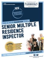Senior Multiple Residence Inspector