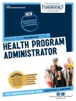 Health Program Administrator
