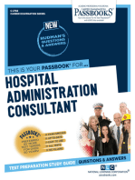 Hospital Administration Consultant