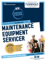 Maintenance Equipment Servicer