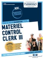 Materiel Control Clerk III