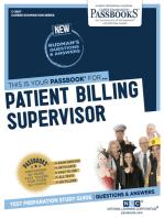 Patient Billing Supervisor