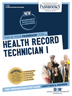 Health Record Technician I