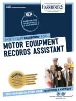 Motor Equipment Records Assistant