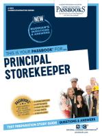 Principal Storekeeper