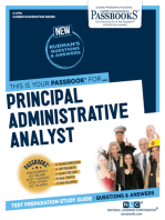 Principal Administrative Analyst