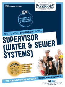 Supervisor (Water & Sewer Systems): Passbooks Study Guide