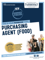 Purchasing Agent (Food)
