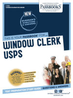 Window Clerk (USPS)