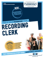 Recording Clerk