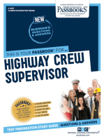 Highway Crew Supervisor