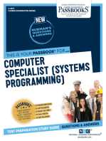 Computer Specialist (Systems Programming)