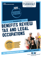 Benefits Review, Tax and Legal Occupations