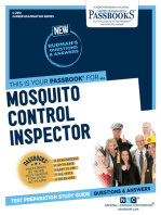 Mosquito Control Inspector