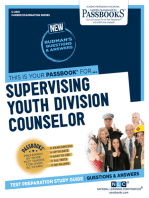 Supervising Youth Division Counselor