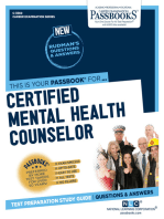 Certified Mental Health Counselor